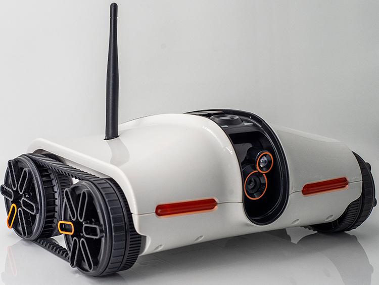 遥控车智能看家机器人充电坦克玩具