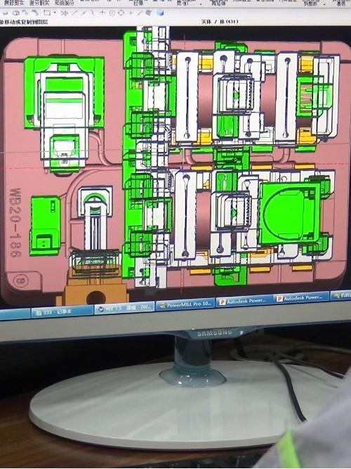 模具厂内部生产流程