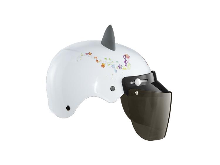 女电动车头盔四季可爱半盔安全帽现货