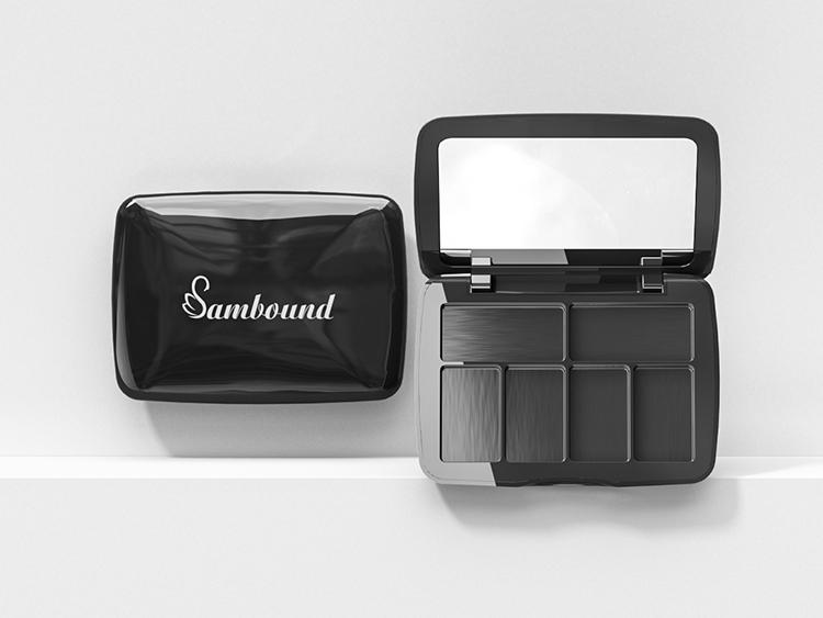 化妆品包装供应商加工眼影盘