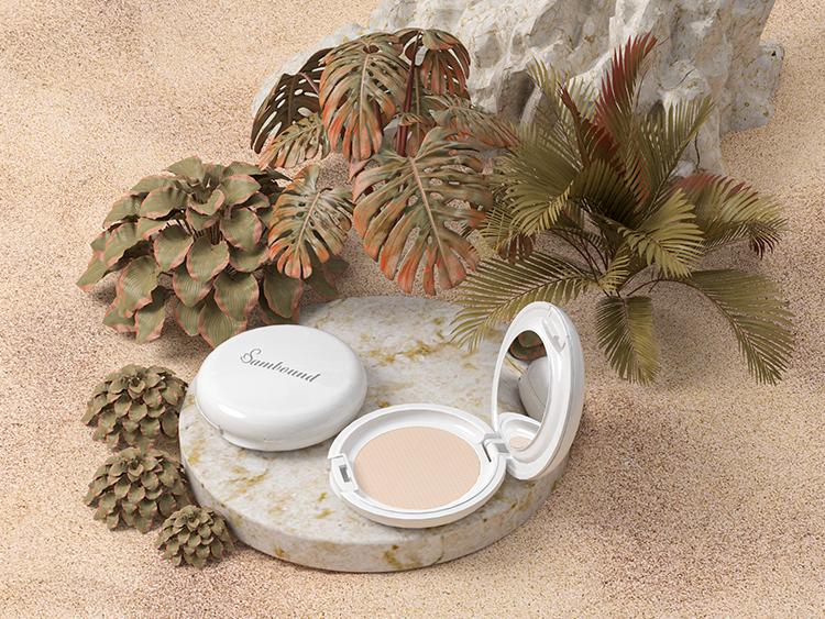 化妆品的包装粉饼盒注塑