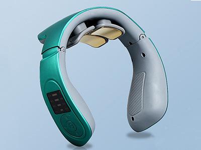 理疗热敷脊椎护颈仪塑胶壳